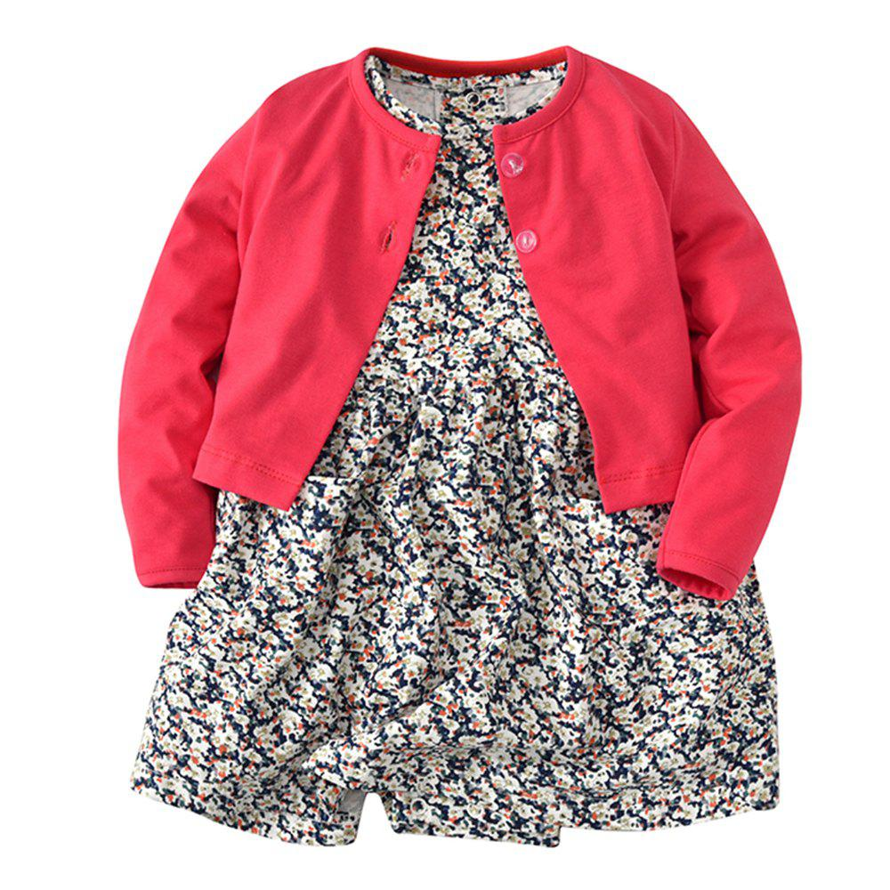 Shops 19F003 Baby Climbing Long Sleeve Jacket Two-Piece