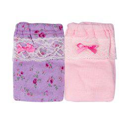 JOYOROY JR002013 Creative Lace Girls Underwear 2pcs -