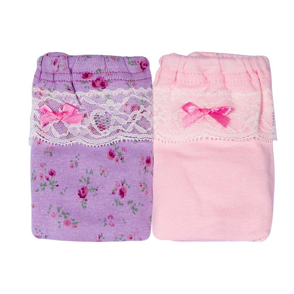 Trendy JOYOROY JR002013 Creative Lace Girls Underwear 2pcs