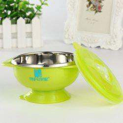 ANPEI AP3130 Double Stainless Steel Suction Cup Bowl -