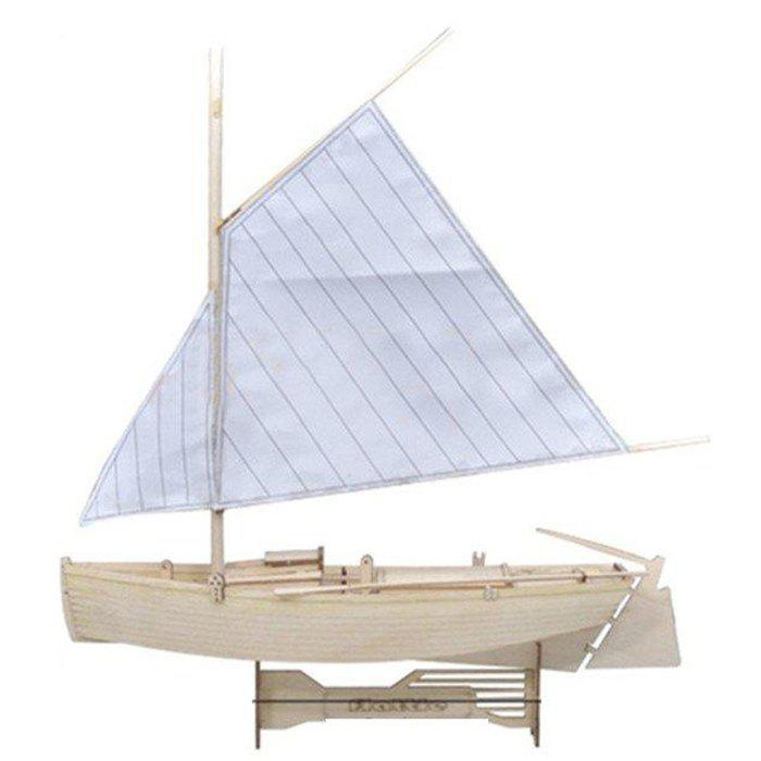 Wooden Sailing Boat Assembly Building Blocks