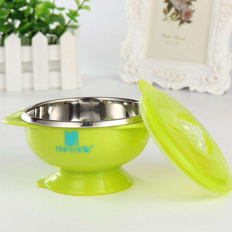 Affordable ANPEI AP3130 Double Stainless Steel Suction Cup Bowl