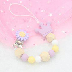Baby Cute Silicone Pacifier Chain Clip -