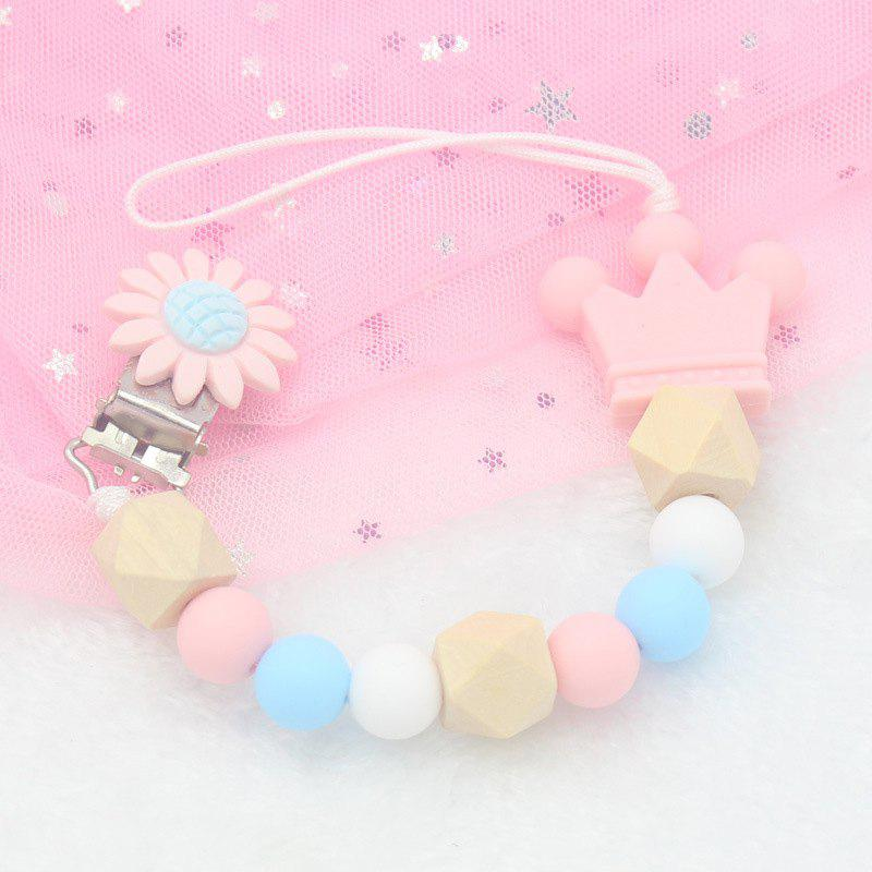 Latest Baby Cute Silicone Pacifier Chain Clip