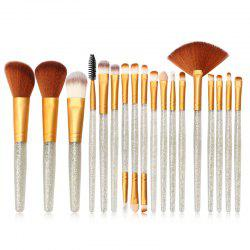 MAANGE MAG5734 Flash Diamond Makeup Brush Set Make Up Tool -