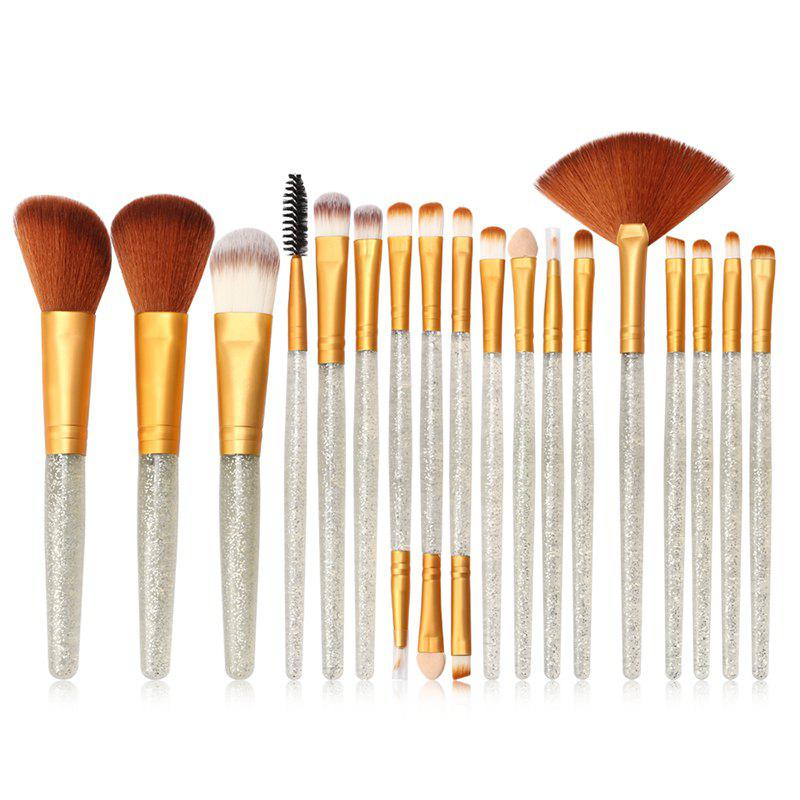 New MAANGE MAG5734 Flash Diamond Makeup Brush Set Make Up Tool