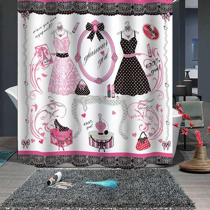 Store Dress Gift Boutique Shower Curtain