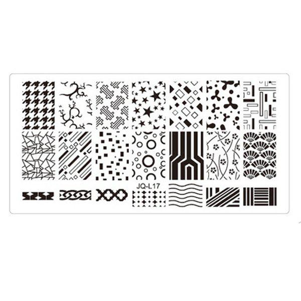 Unique Nail Tools New Environmental Manicure Print Template