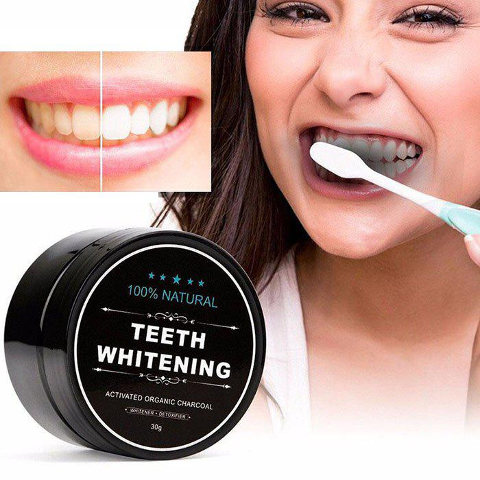MQ002 Natural Activated Carbon Whitening Beauty Tooth Powder
