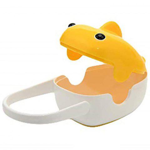HT - 300 Large Capacity Portable Baby Dust Pacifier Storage Box - BRIGHT YELLOW