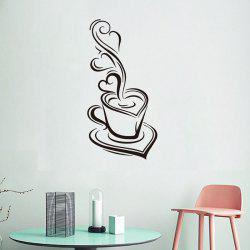 DX047 Coffee Cup Wall Sticker -