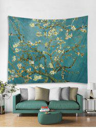 Oil Painting Flower Tapestry Art Decoration -