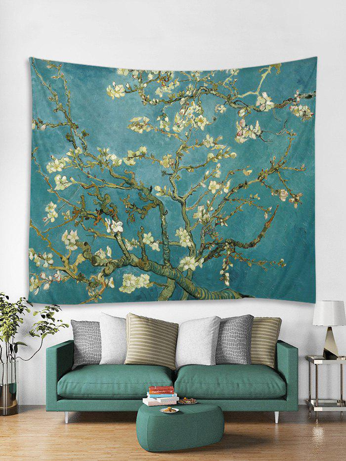 Discount Oil Painting Flower Tapestry Art Decoration