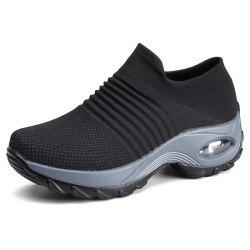 Women Casual Mesh Cloth Padded Outdoor Sports Shoes -