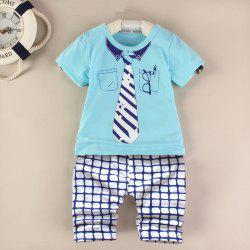 AF - 931 Summer Short Sleeve Kids Set -