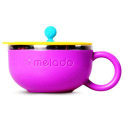 melado Children's Colorful Stainless Steel Mini Bowl -