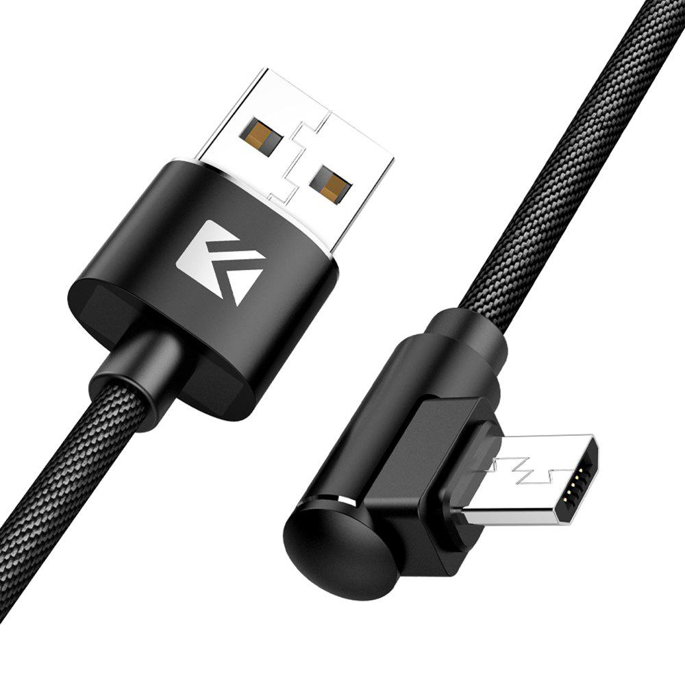 Latest Floveme 90 Degree Elbow Quick Charging Micro USB 1m Data Cable
