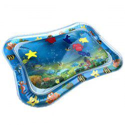 Inflatable Tummy Time Premium Water Mat for Infants Toddlers Perfect Play Activity Center Your Baby's Stimulation Growth -