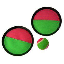 Children's Sticky Target Racket Throwing Suction Cup Ball -