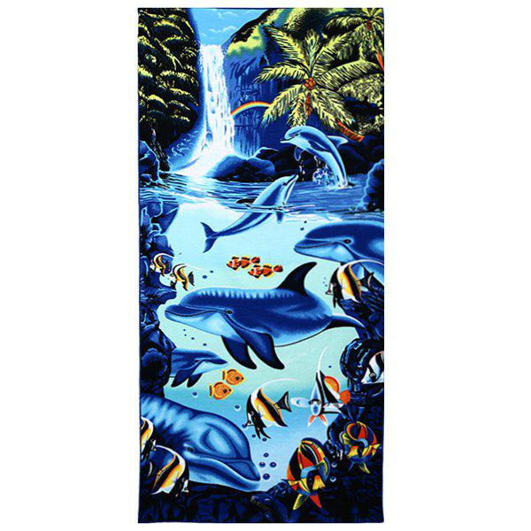 Outfits Microfiber Reactive Printing Bath Towel