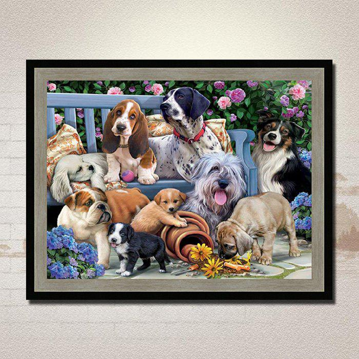 Outfits Lzy - 1403 DIY Garden Animals Diamond Painting