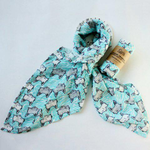 Baby Print Quilt Wrapped in Spring Autumn Winter Gauze
