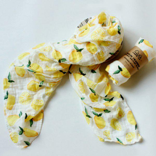 Fashion Baby Print Quilt Wrapped in Spring Autumn Winter Gauze