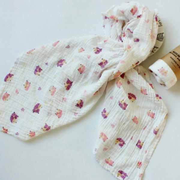 New Baby Print Quilt Wrapped in Spring Autumn Winter Gauze
