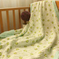 115 X 115 Eight Layers Baby Washed Gauze Wrap Towel -