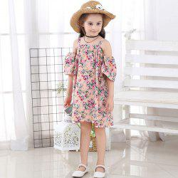 1131 Girl Floral Fashion Slip Dress -