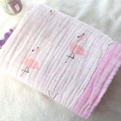 115 x 115 Four-layer Baby Washed Gauze Wrap Towel Cotton Washed Gauze Newborn Hug -