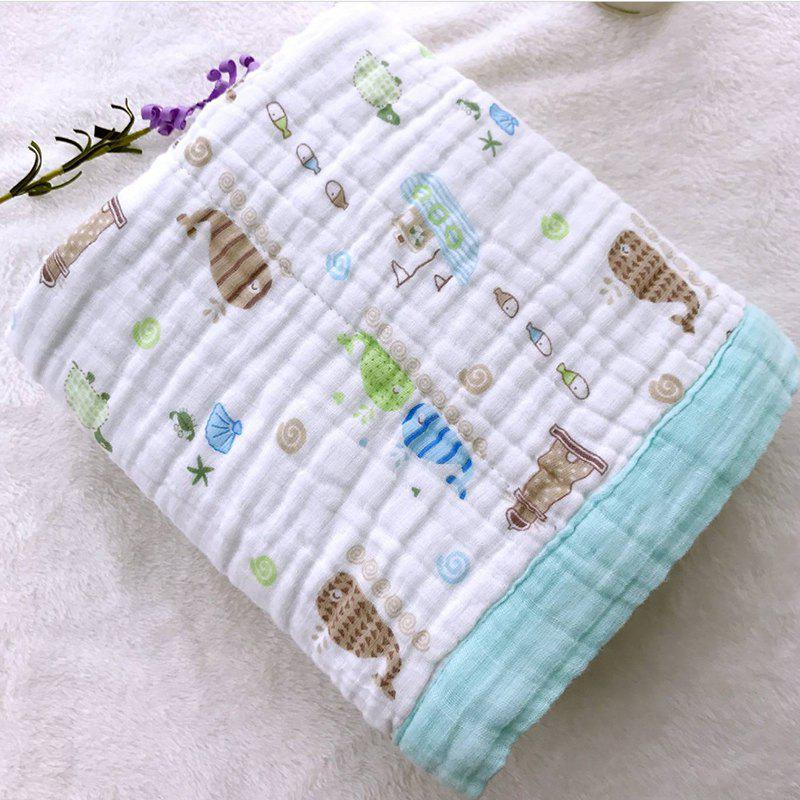 Cotton Gauze Wrap Towel  Hug Baby Wrapped Spring Summer Blanket BE
