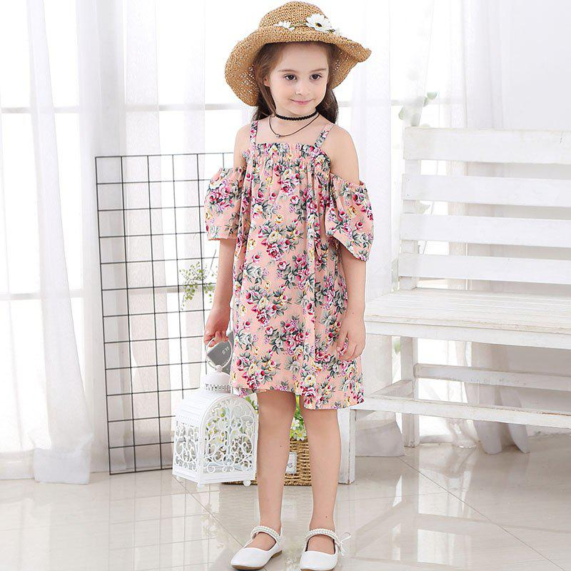 Shop 1131 Girl Floral Fashion Slip Dress