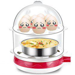 Double-layer Small Non-stick Frying Pan Egg Cooker Breakfast Machine -