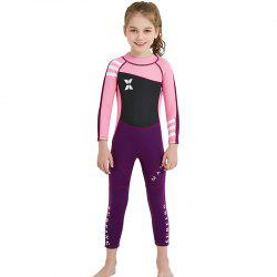 DIVE SAIL WS - 18818 Children Swimsuit One-piece Long Sleeve -