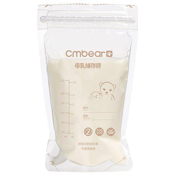 Affordable Cmbear ZRM - 0601 Breast Milk Storage Bag 220ML 30PCS