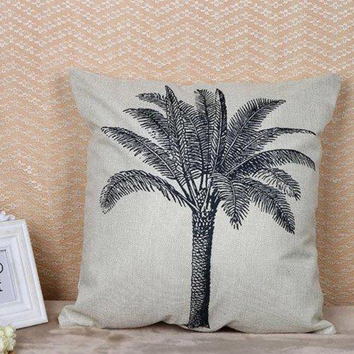 Latest Digital Printed Cotton Linen Pillowcase