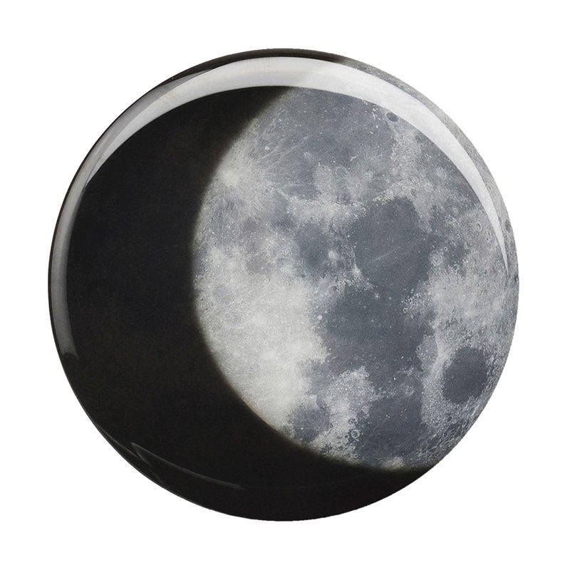 Fancy Thermochromic Coaster Food Safe Cup Mat Moon Pattern 4pcs