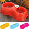 2 in 1 Dual-use Food Water Supply Dog Cat Pet Bowl -