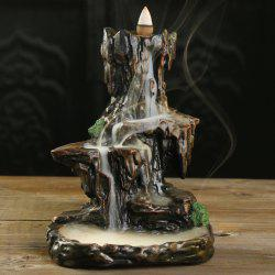 Craft Gift Mountain Water Backflow Aromatherapy Furnace Decoration -