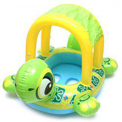 Turtle Boat Swimming Ring Children Summer Outdoor Play Water Toys -
