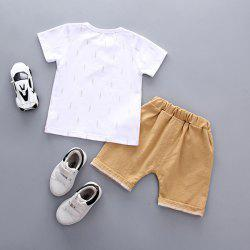 Soft Material / Breathable Wearing Boy Short Sleeve Suit -