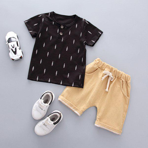 Unique Soft Material / Breathable Wearing Boy Short Sleeve Suit