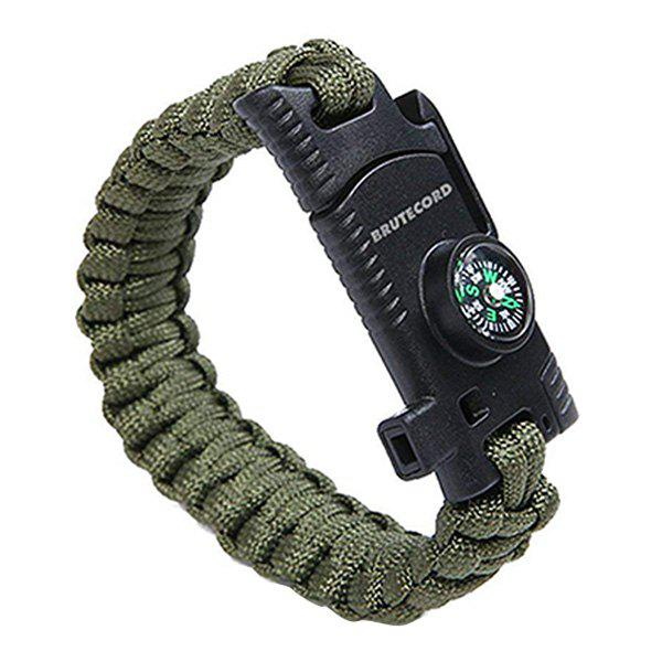 Cheap Outdoor Multi Tools Survival Emergency Bracelet Hand Rope