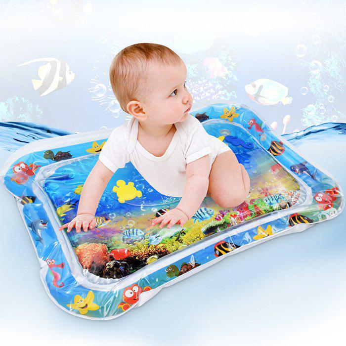 Affordable Children's Puzzle Marine Animal Inflatable Crawling Water Cushion