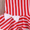 YBB - S1 Fashionable Striped Bow Swimsuit -