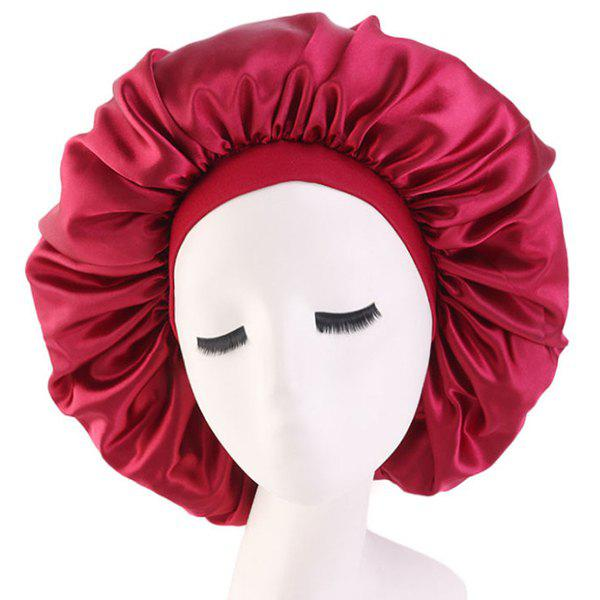 Latest Stretchy Wide-brimmed Shower Cap