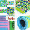 Educational 1.6m Damp-proof Baby Pad for Game / Camping -