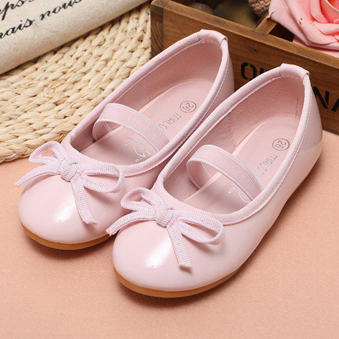 Unique MRLOTUSNEE 602 - 3 Small Bow Flat Girls Children Casual Shoes