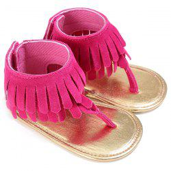 C - 328 Girl Tassels Pinch Sandals Baby Toddler Shoes -